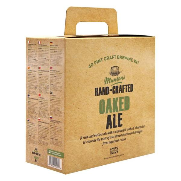 Muntons hand-Craftet Oaked Ale